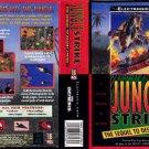 Jungle Strike by Sega Genesis Video Game Vintage