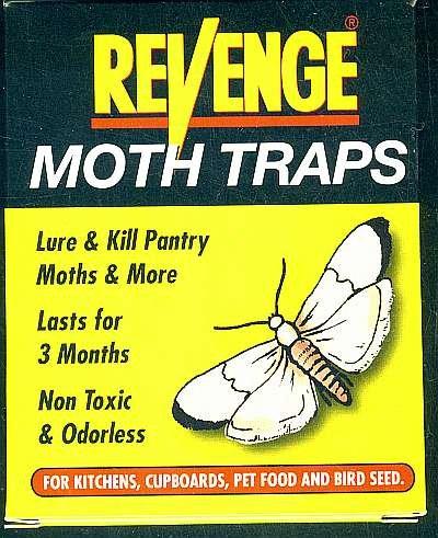 2 Pkg (4 Traps) Pheromone Pantry Moth Trap. Free Ship