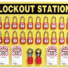 Safety Lockout Stations: MASTER 20 Lockout Station