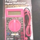 Multimeters: Cen-Tech 7 function digital multimeter