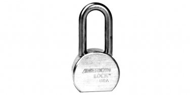 "Padlocks:American Lock A701 KA 43737 212WIDE,1-1/8""THICK,2""SHKL,RD"