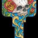 Key Blanks: Key Blank AI1 - Skull & Roses - Kwikset