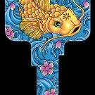 Key Blanks: Key Blank AI3 - Koi Fish - Kwikset