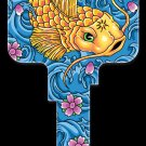 Key Blanks: Key Blank AI3 - Koi Fish - Schlage