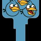 Key Blanks: Key Blank AB3 - Blue Birds - Weiser