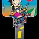 Key Blanks: Key Blank B1 - Biker Betty - Weiser