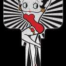 Key Blanks: Key Blank B13 - Betty Boop Glitter- Weiser