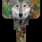 Key Blanks: Key Blank DPW2 - Wolf - Kwikset