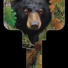 Key Blanks: Key Blank DPW1 - Black Bear - Schlage