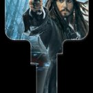 Key Blanks: Key Blank D27 - Disney's Capt'n Jack Sparrow - Schlage