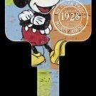 Key Blanks: Key Blank D62- Disney's Mickey Mouse 1928- Kwikset