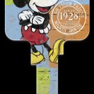 Key Blanks: Key Blank D62- Disney's Mickey Mouse 1928- Weiser