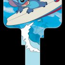 Key Blanks: Key Blank D67 - Disney's Stitch Surfing - Schlage
