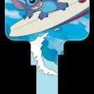 Key Blanks: Key Blank D67 - Disney's Stitch Surfing - Schlage