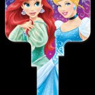 Key Blanks: Key Blank D72 - Disney's Princesses- Weiser