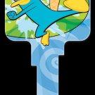 Key Blanks: Key Blank D81 - Disney's Agent P- Kwikset