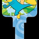 Key Blanks: Key Blank D81 - Disney's Agent P- Weiser
