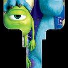 Key Blanks: Key Blank D100 - Disney's Mike & Sulley- Kwikset