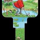 Key Blanks: Key Blank GP6 - Golfing- Schlage
