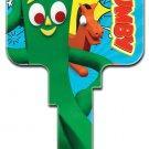 Key Blanks: Key Blank GY1 - Gumby- Weiser