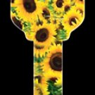 Key Blanks: Key Blank Model: KW1-SUNFLOWER - Kwikset