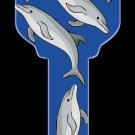 Key Blanks: Key Blank HK13 - Dolphins- Kwikset