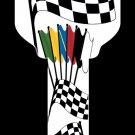 Key Blanks: Key Blank HK16 - Racing Flags- Weiser