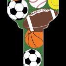 Key Blanks: Key Blank HK17 - Sports- Schlage