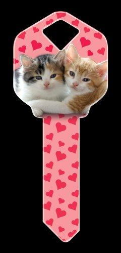Key Blanks: Key Blank HK29 - Kittens - Kwikset