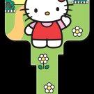 Key Blanks: Key Blank SR6 - Hello Kitty's House- Kwikset