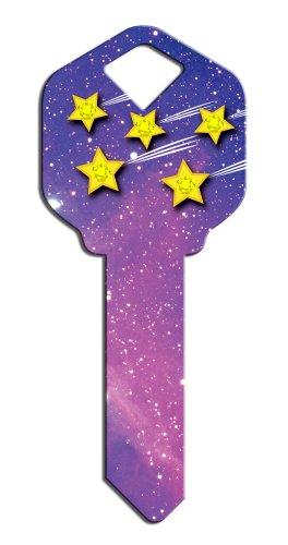 Key Blanks: Key Blank SP2 - Stars- Kwikset