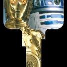 Key Blanks: Key Blank SW6 - C-3PO & R2-D2- Schlage