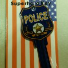 Key Blanks: Real Superhero Key Police Key Blanks - Schlage