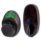 Door Handle Set: Master Lock Model No. DSKP0612PD345 Electronic Keypad Deadbolt