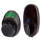 Door Handle Set: Master Lock Model No. DSKP0612PD Electronic Keypad Deadbolt
