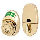 Door Handle Set: Master Lock Model No. DSKP0603PR125 Electronic Keypad Deadbolt