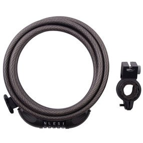Cable Lock: Master Lock Model No. 8220D Combination Cable Lock