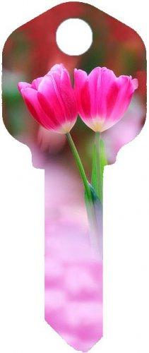 Key Blanks:Model:-TULIP FLOWER Key Blanks - Kwikset
