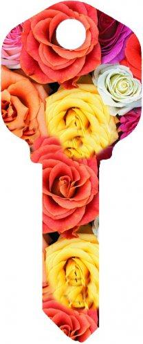 Key Blanks:Model:MIX ROSES Key Blanks - Kwikset