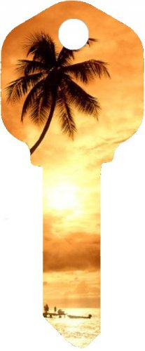 Key Blanks:Model HAWAII SUNSET Key Blanks - Kwikset