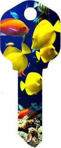 Key Blanks:Model FISH Key Blanks - Kwikset