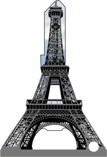 Key Blanks:Model 3D EIFFEL TOWER Key Blanks - Kwikset