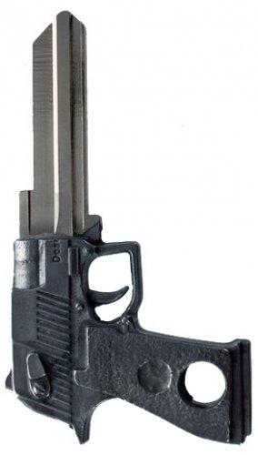 Key Blanks:Model 3D PISTOL GUN KEY Blanks - Schlage