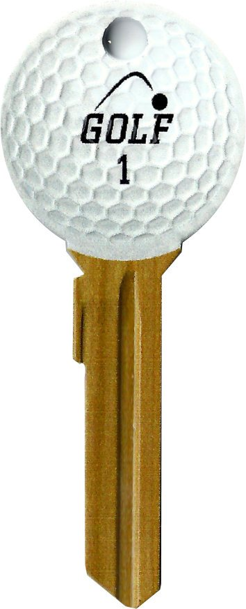 Key Blanks:Model Golfing Key Blanks - Kwikset