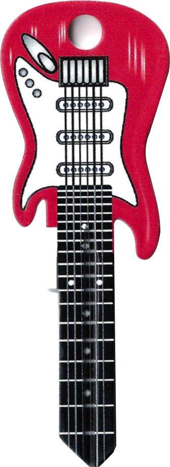 Key Blanks:Model RED GUITAR KEY Blanks - Schlage