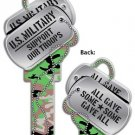 Key Blanks:Model Dog Tags Blanks - Schlage