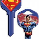 Key Blanks:Model SUPERMAN BLUE Blanks - Kwikset