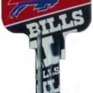 Key Blanks: Model: NFL - Buffalo Bills Key Blanks - Schlage