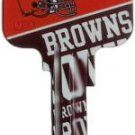 Key Blanks: Model: NFL - Cleveland Browns Key Blanks - Kwikset