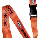 Key Accessories: Denver Broncos Orange Lanyard